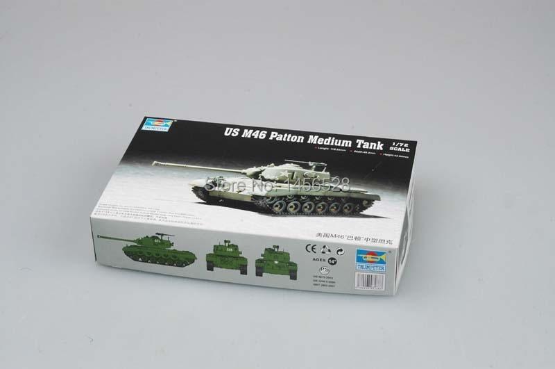 Trumpeter 1//72 07288 US M46 Patton Medium Tank