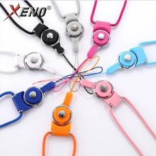 Mobile Phone Strap Detachable Cell Neck Lanyard ID Card Key Ring Holder for Samsung IPHONE HUAWEI