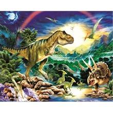 H2112 diy painting,diamont painting,diamond embroider Dinosaur