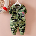 Baby Clothing Sets 2016 new autumn baby boys Camouflage tracksuit set long sleeve kids outfits suits cardigan star sports suit