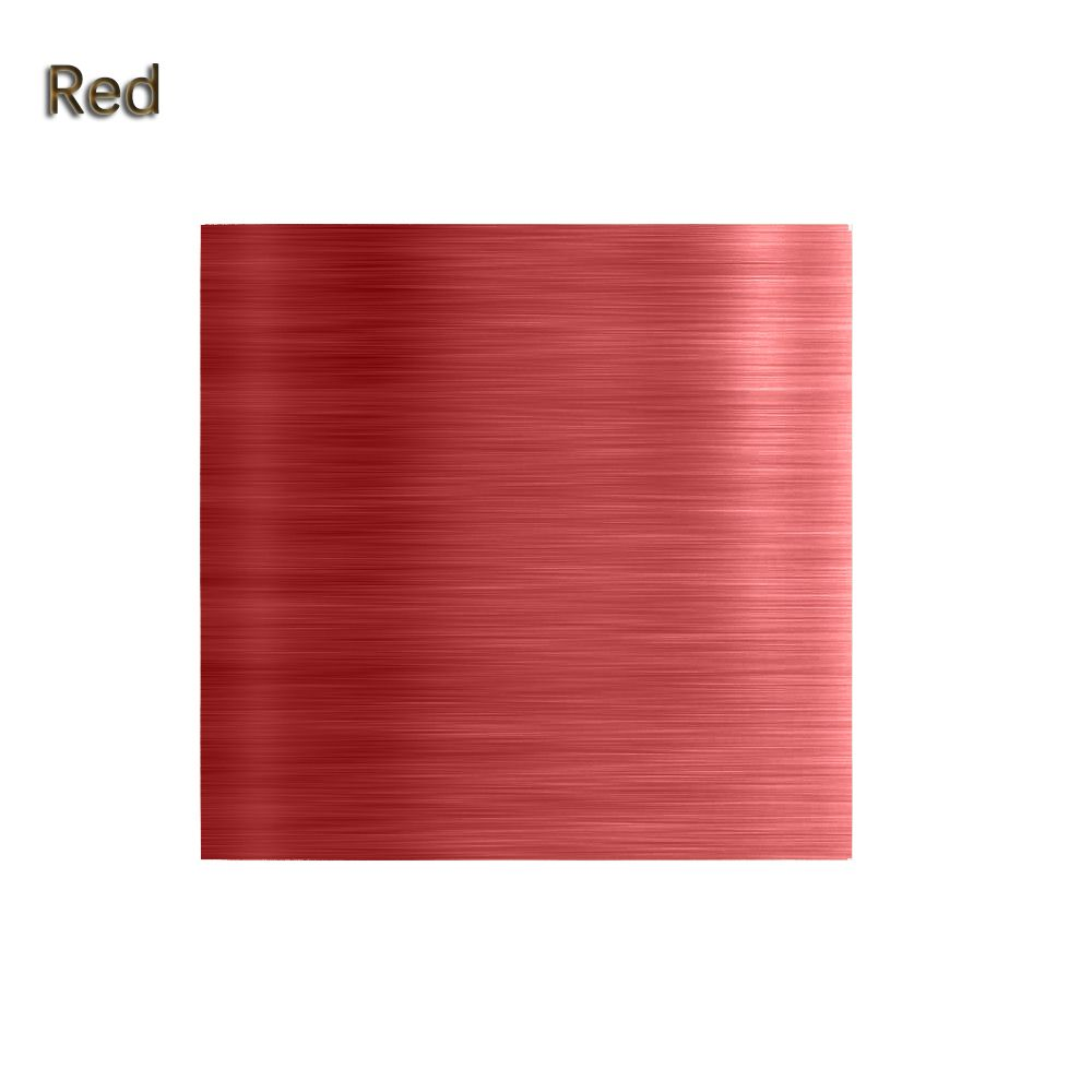 """100 шт./компл. 3,1"""" x 3,15"""" Мути-цвет 8011 еда алюминиевая фольга DIY шоколадные конфеты пакет бумаги 10 цветов - Цвет: Красный"""
