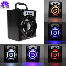 MS-132BT Mini Portable Wireless Bluetooth Speaker Support FM Radio LED Shinning TF/Micro SD Card