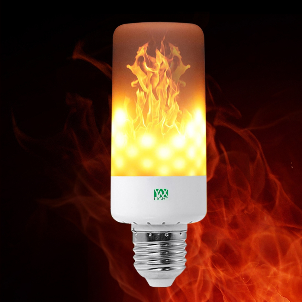 YWXLight LED Light Bulb Leaping Flickering Flame E26 AC 85