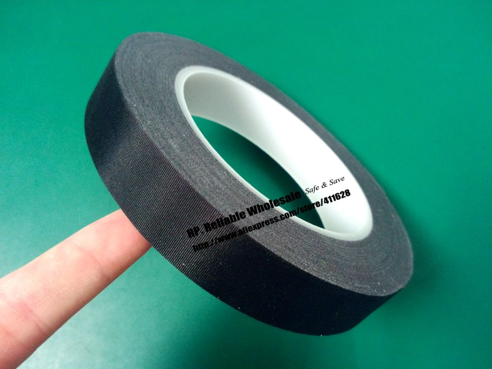 (5mm*30M) Black Cloth, White Glue, Flame retardant Isolate Acetate Tape, Single Adhesive for Wire, LCD Capacitor Wrap Insulate.