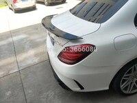 SHCHCG для Mercedes Benz W205 седан C Class C180 C200 C250 C260 W205 2015 2016 2017 2018 углеродного волокна задний спойлер, крыло, багажник