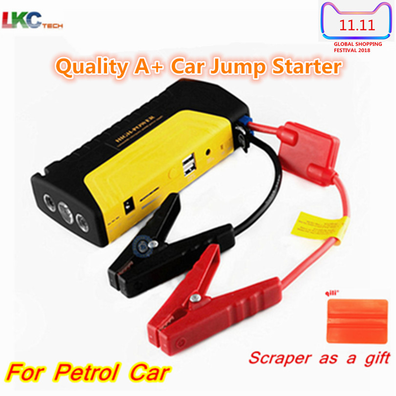 Best Quality Mini Car Jump Starter Emergency Multi-Function Power Bank Car Jump Starter for Petrol Phone Laptop Battery Charger for petrol 6 0l car jump starter 30000mah 12v battery charger for laptop power bank with led light