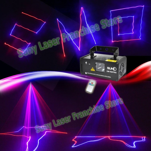 DMX 600mw RBP Laser Stage Lighting Scanner DJ Show Pink Light Effect Projector Illumination Fantastic Disco
