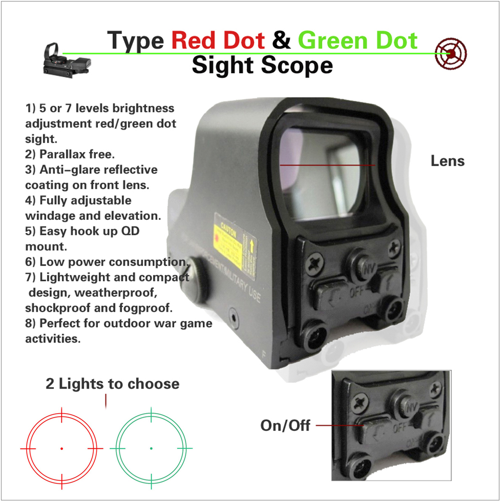 551 red green dot sight scope 1 (1)