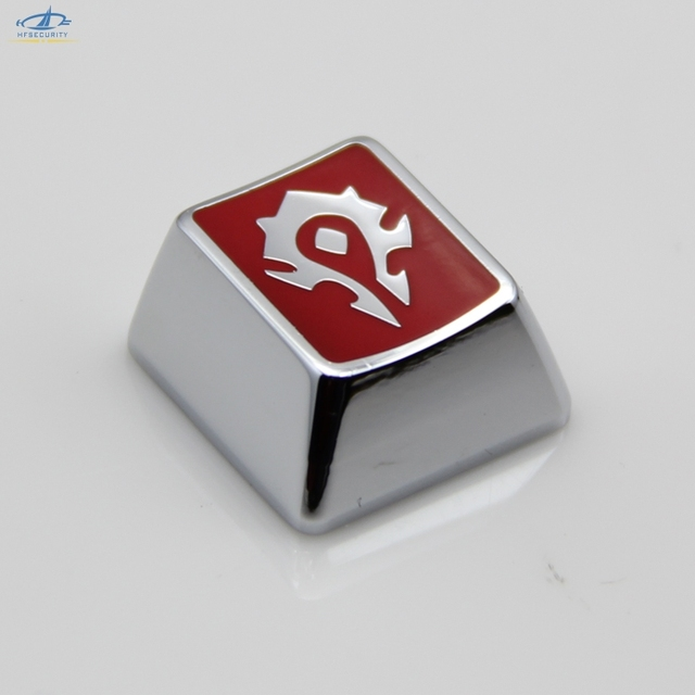 US $14 99 |[HFSECURITY] Customized Gaming Keycaps for Mechanical Keyboard  Gamer Keyboards Metal Keypress-in Keyboards from Computer & Office on