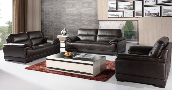 Sofa Set Living Room Furniture Modern With Genuine Leather SetChina