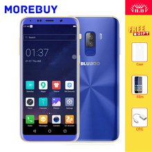 """Bluboo S8 смартфон 5.7 """"HD 18:9 полный Экран Octa core 3 г Оперативная память 32 г Встроенная память Android 7.0 Dual сзади камеры отпечатков пальцев мобильный телефон"""