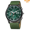 Famous Brand Eyki Men Fashion Casual Fabric Strap Mechanical Watch With calendar and week Business series 8733