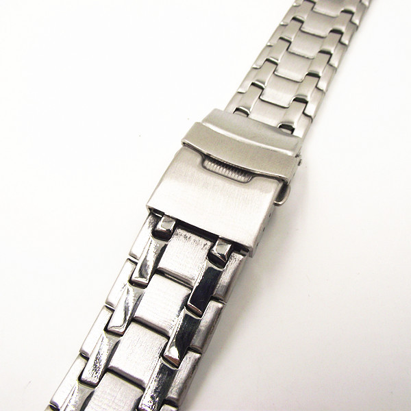 1PCS High quality 18MM Stainless Steel Watch band Watch strap metal - 082702 high quality lowest price wholesale kz 19 pneumatic combination steel metal strapping packing machine for 19mm steel strap tape