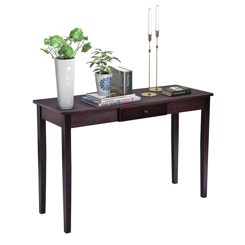 Fine Us 74 63 45 Off Wood Entryway Side Sofa Accent Console Table Hw56071 In Console Tables From Furniture On Aliexpress Ibusinesslaw Wood Chair Design Ideas Ibusinesslaworg