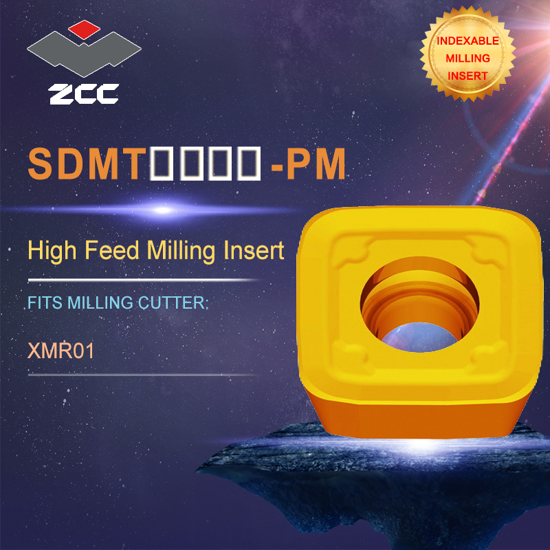 10pcs ZCC.CT ONHU060408-PF YBG202 CNC Carbide Milling Insert