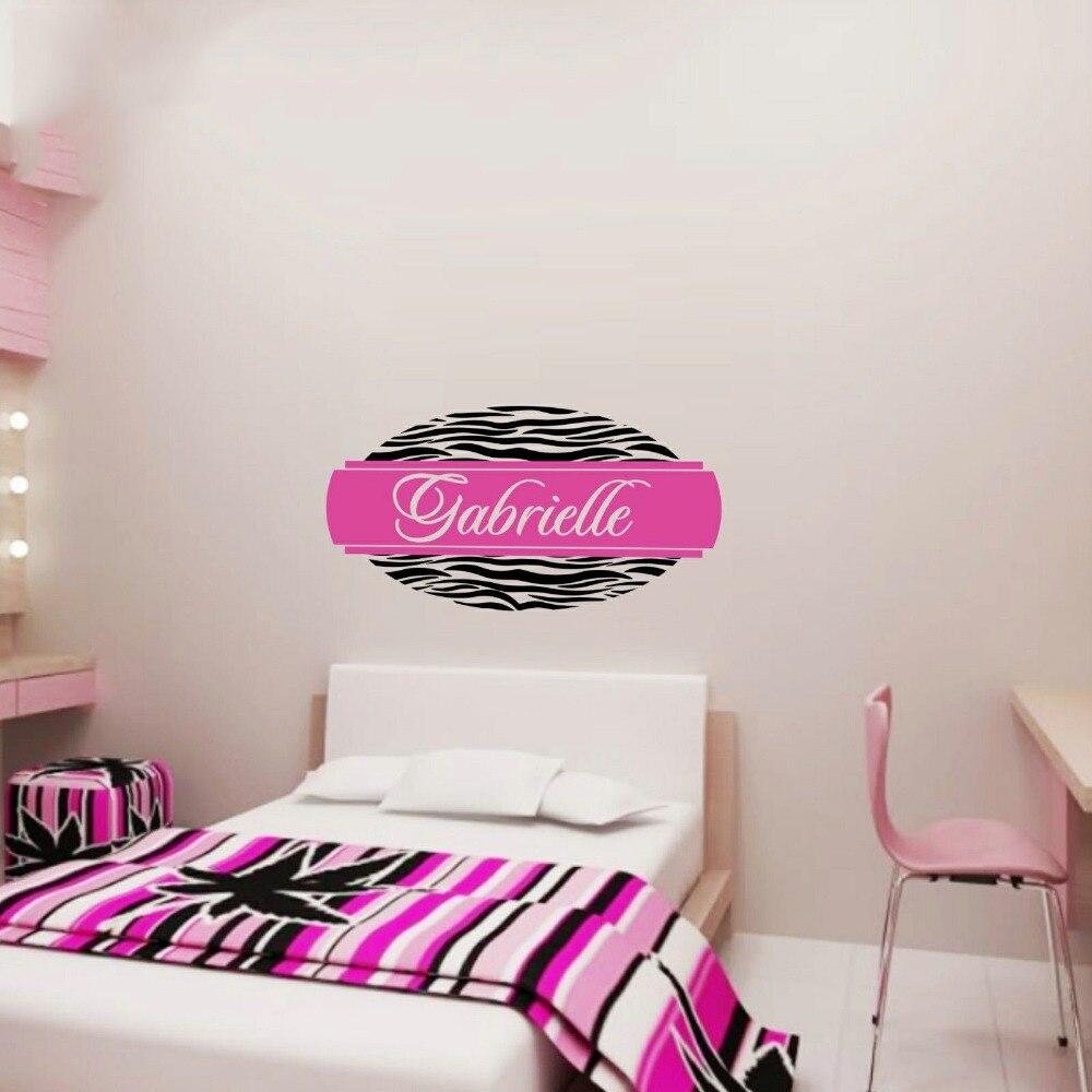 Online Get Cheap Zebra Print Wall Decals Aliexpresscom Alibaba - Custom vinyl wall decals cheap