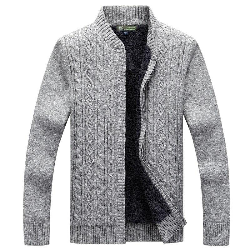 Ablaze Jin Mens Sweaters Autumn Winter Knitted Wool Sweater Men Casual O-Neck
