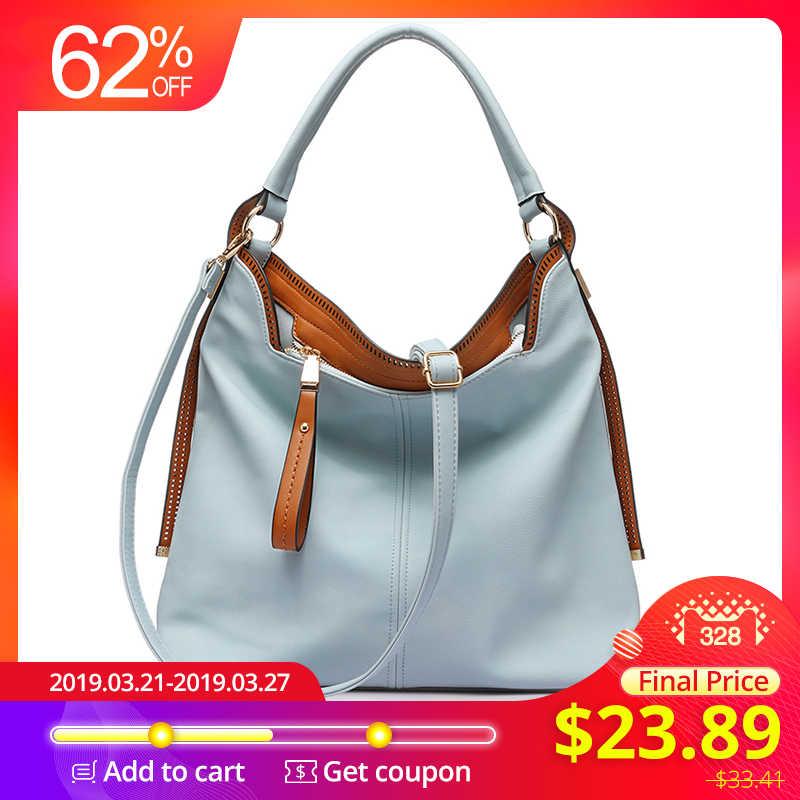 64fa5eec8e L'AMOUREUX grand épaule bandoulière sacs pour sac à main des femmes femelle  sacs de