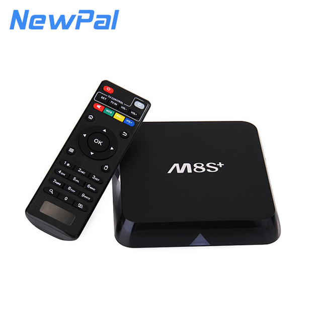 Original M8S plus/M8S + 1G/8G Android TV Box Set-top Box Amlogic S805 Quad Core Android 4.4 WIFI 4 K KODI Reproductor Multimedia 1G + 8G