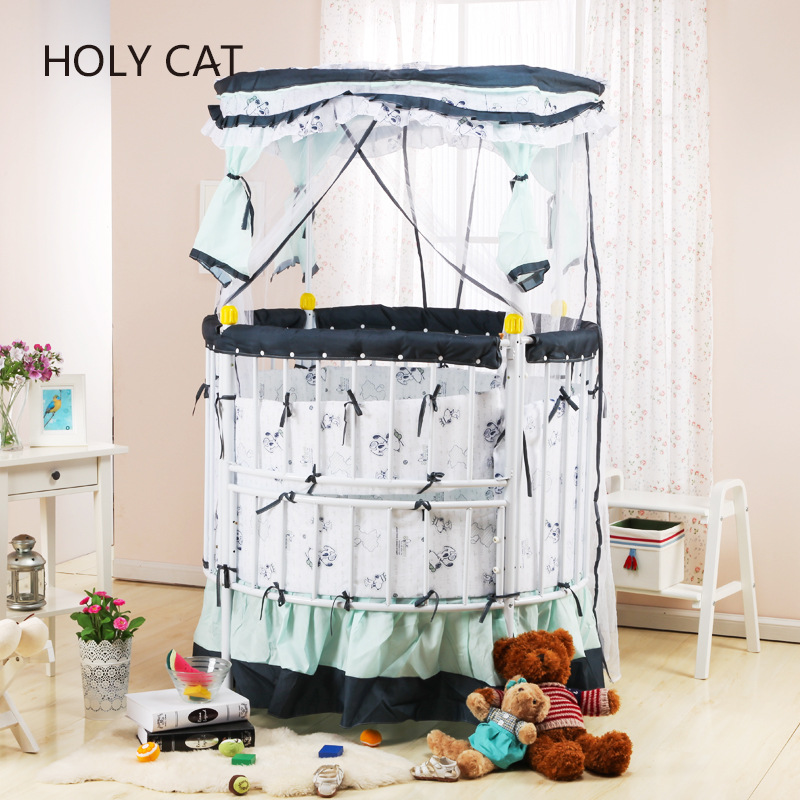 Duchenne Stroller [holycat] Multifunctional Child Bed Manufacturers, Iron Cloth Game Baby Tc-601