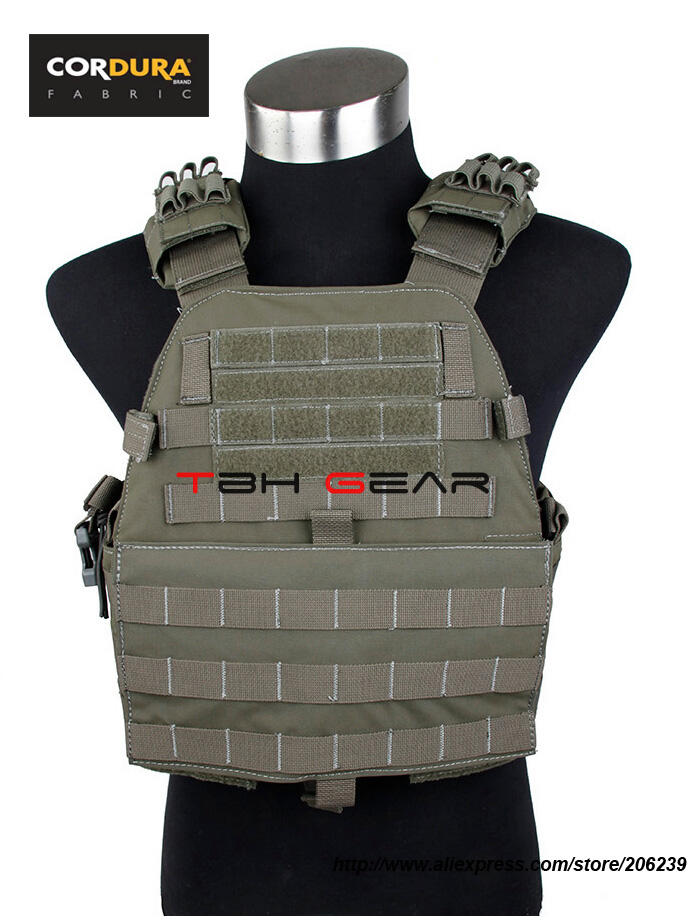 TMC Assault Plate Carrier Vest MOLLE Tactical Vest Plate Carrier Cordura RG+Free shipping(SKU12050453)