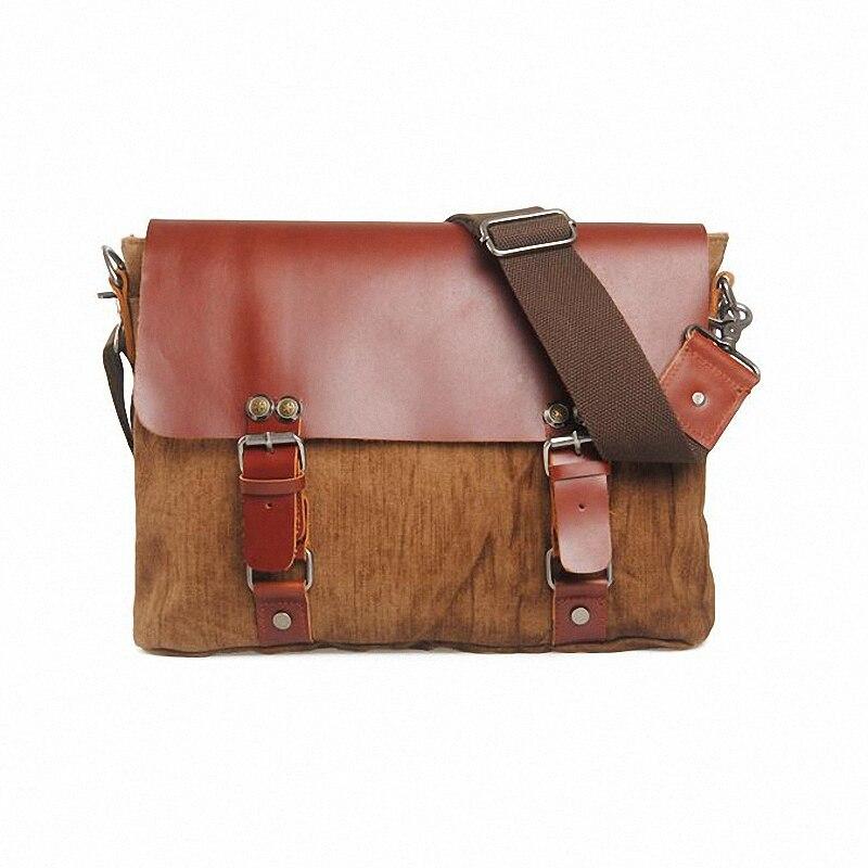 ФОТО Vintage Crossbody Bag Military Canvas Casual fashion shoulder bags Men messenger bag men Handbag tote Briefcase LI-1041