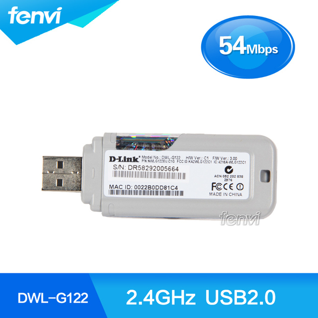 D-LINK ADAPTER DWL-G122 DRIVERS DOWNLOAD (2019)