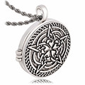 Locket Necklace Solomon Seal Photo Box Pendant Talisman Pentacle of Jupiter kabbalah Wiccan Big Fashion Necklace Jewelry