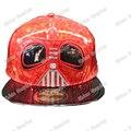 Star Wars Snapback Шапки Взрослых Хип-Хоп Шляпы Бейсболки Черный/Красный симпатичные Шляпе Клоуна для Мужчин и для Женщин