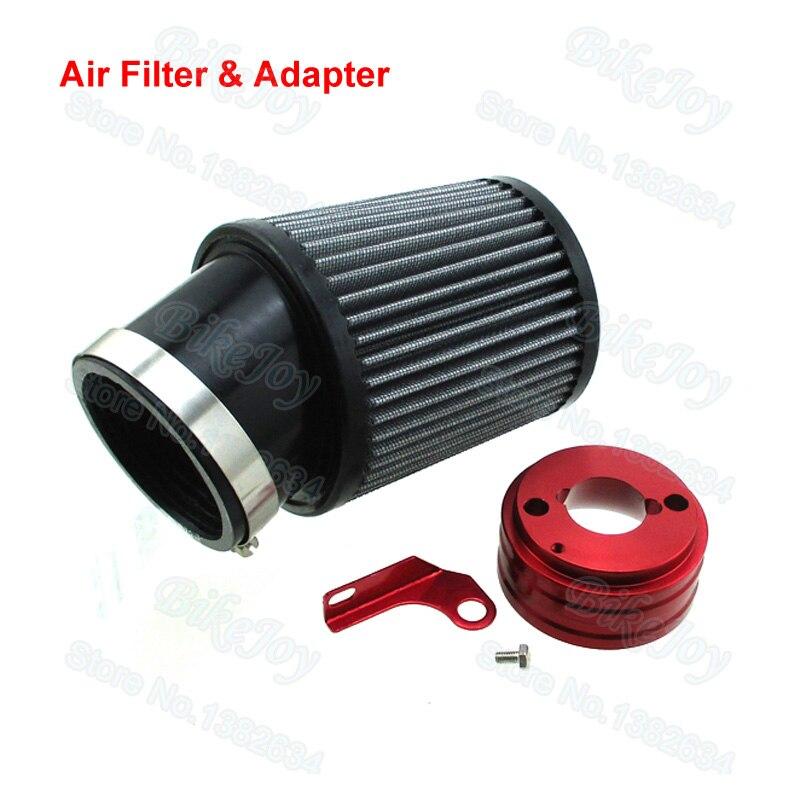 Air Filter & Adapter Kit For Predator 212cc Engine 6.5 HP Honda Clone GX160 GX200 Go Kart Racing ...