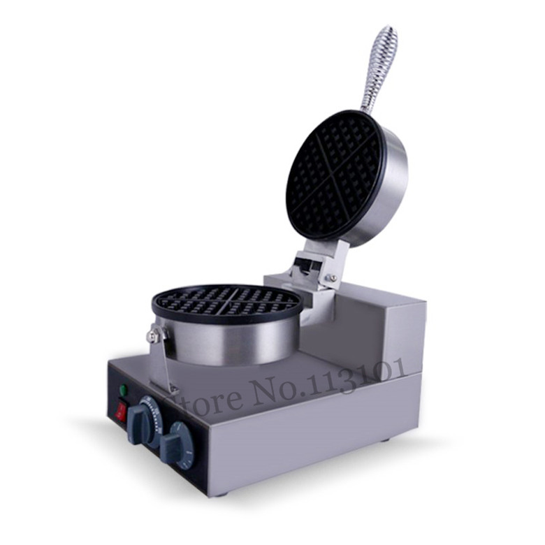Electric Waffle Machine Commercial Waffle Maker Kitchen Appliance Non-stick PanElectric Waffle Machine Commercial Waffle Maker Kitchen Appliance Non-stick Pan