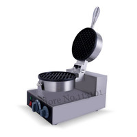 Electric Waffle Machine Commercial Waffle Maker Kitchen Appliance Non stick Pan