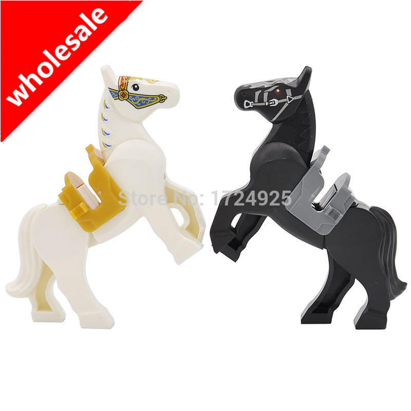 Wholesale 6cm knight Horse Block 10pcs/lot Nazgul Horse The Lord of the Rings Hobbit Building Blocks Kids Toys Gifts 2pcs godox cells ii 1 8000s wireless transceiver trigger kit for canon eos camera speedlite and studio flashes