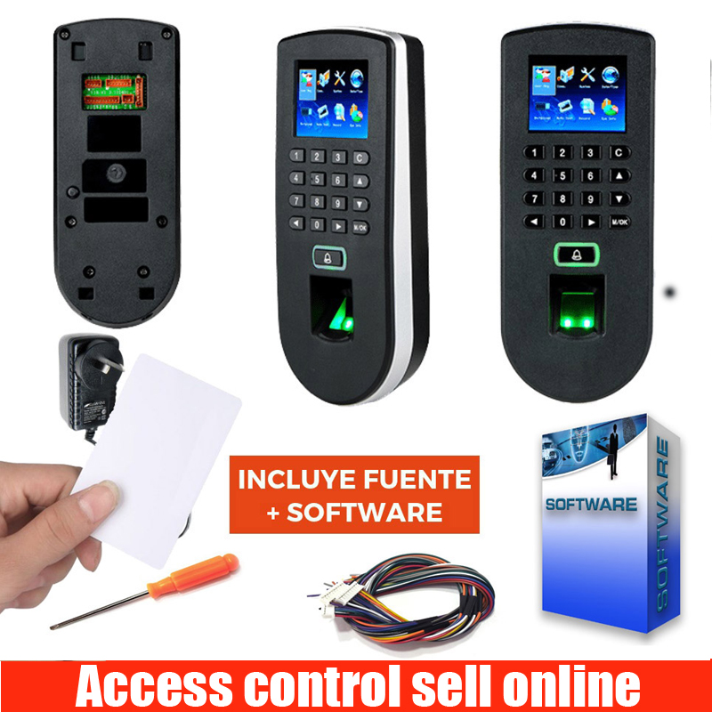 ZK TF1900 zkteco F19 Linux System TCP/IP USB RS232 Fingerprint Time Attendance And Access Control System With 125KHZ RFID Card ZK TF1900 zkteco F19 Linux System TCP/IP USB RS232 Fingerprint Time Attendance And Access Control System With 125KHZ RFID Card