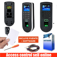 ZK TF1900 zkteco F19 Linux System TCP/IP USB RS232 Fingerprint Time Attendance And Access Control System With 125KHZ RFID Card