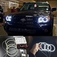 HochiTech Super Bright White Color Light SMD LED Angel Eyes For Toyota 4Runner 2006 2009 Car