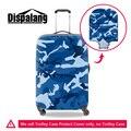 Dispalang бренда travel камера защитные чехлы буле камуфляж печати тележка чемодан обложка для мужчин водонепроницаемый пылезащитный чехол