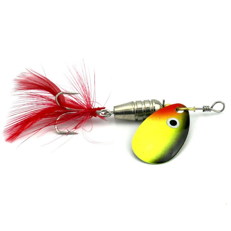 Rotating Sequins Fishing Lures Paillette Hook Spinner Baits Tackle Crankbaits Spoon Spinner baits 3pcs lot fishing lures mixed set minnow crankbaits topwater popper hook lure spinner baits crankbait bass wobbler tackle hook