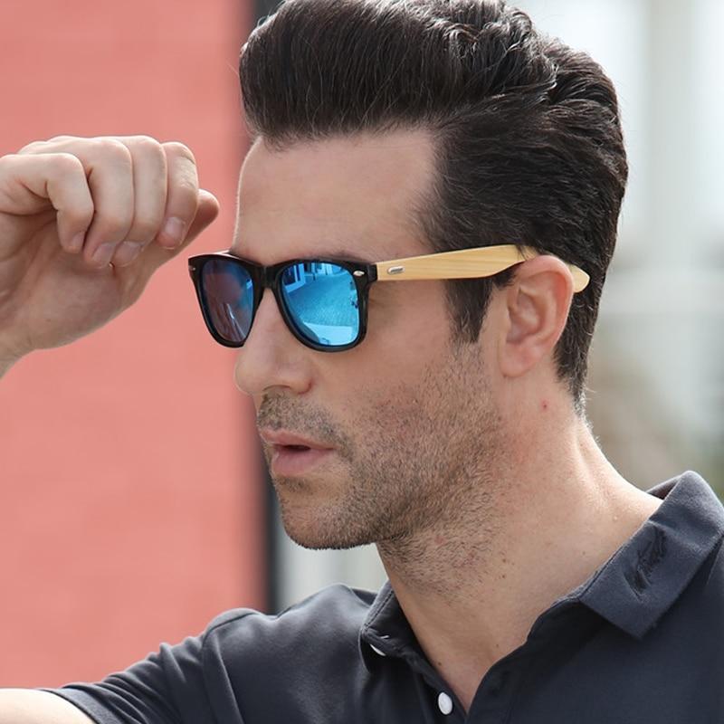 LongKeeper Marke Design Bambus Fuß Sonnenbrille Männer Holz Sonnenbrille Frauen Original Holz Sonnenbrille 2016 Heißer LKP1501