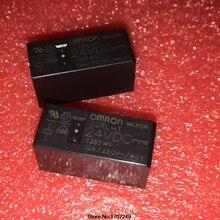Miễn phí Vận Chuyển new gốc Omron Rơ le 10 cái/lốc G2RL 1 24VDC G2RL 1 DC24V G2RL 1 24V G2RL 1 24VDC 12A 5Pin
