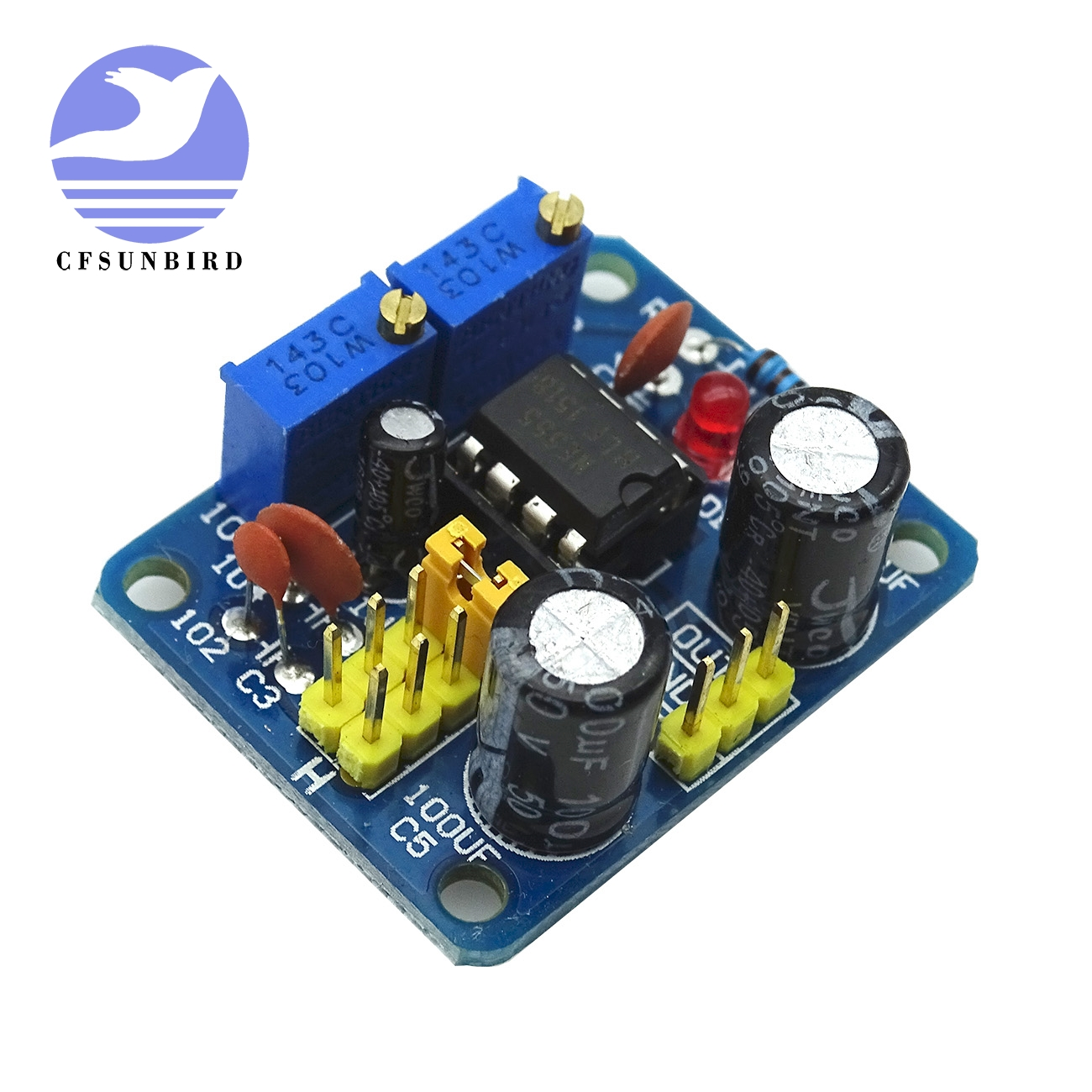 NE555 Duty Cycle Frequency Einstellbar Modul Square Wave Signal Generator