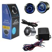 New 12V Car Engine Start Push Button Switch Ignition Starter Kit Blue LED Universal Most Popular
