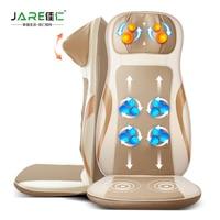Car Massage Pad Cervical Massage Device Multifunctional Car Massage Cushion Neck Full Body Infrared Heating Massage