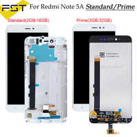 "5,5 ""720x1080 IPS Display Für XIAOMI Redmi Hinweis 5A LCD Touch Screen Mit Rahmen für Xiaomi Redmi hinweis 5A Prime LCD Y1/Y1 Lite"
