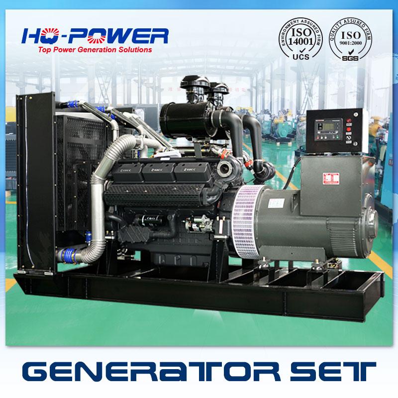 460v 3 phase 60 hz shangchai diesel engine generator 550kw