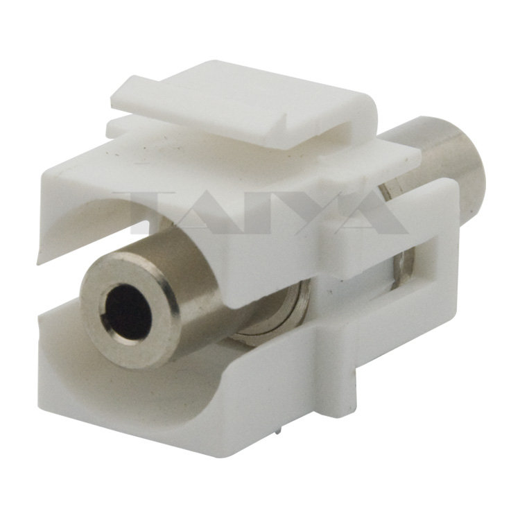 New Style Keystone 3.5mm Stereo Audio Connector
