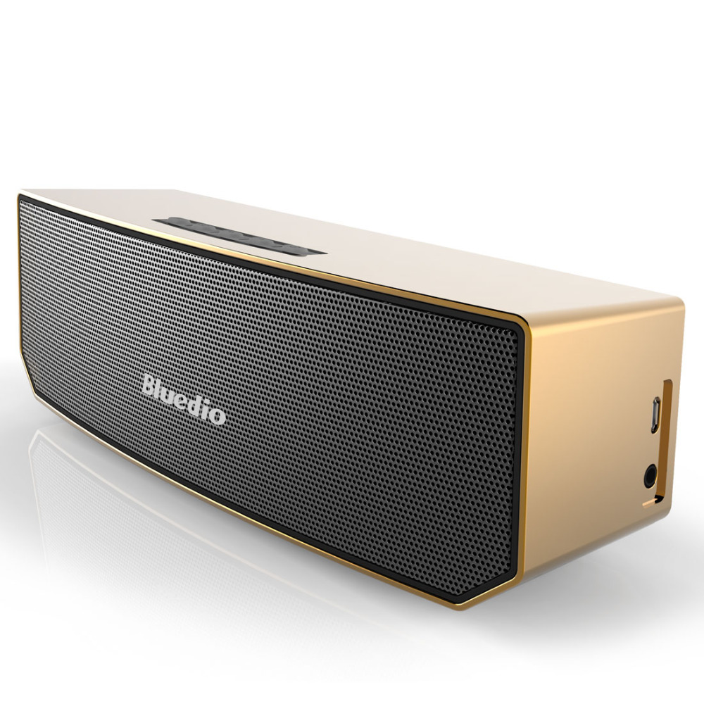 Orignal Bluedio BS-3 Mini Bluetooth speaker Portable Wireless speaker Home Theater Party Speaker Sound System 3D stereo Music tronsmart element t6 mini bluetooth speaker portable wireless speaker with 360 degree stereo sound for ios android xiaomi player