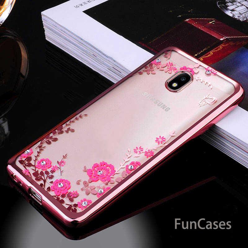 Glitter TPU Silicone cover For Samsung Galaxy J3 J7 J5 2017 Case J530 J5 Pro 2017 J330 J530 Eurasian Version soft clear coque