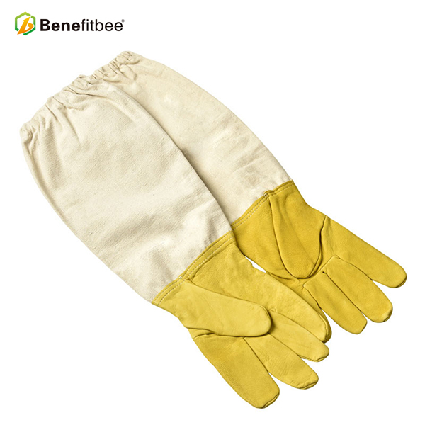 2  Benefitbee Bee Gloves Sheepskin Anti bee Apicultura