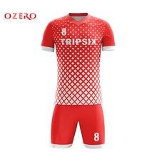 Дешевая сублимированная голубая и однотонная белая Футбольная форма futboll для женщины